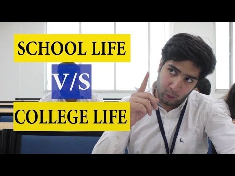 SCHOOL LIFE v/s COLLEGE LIFE || JaiPuru