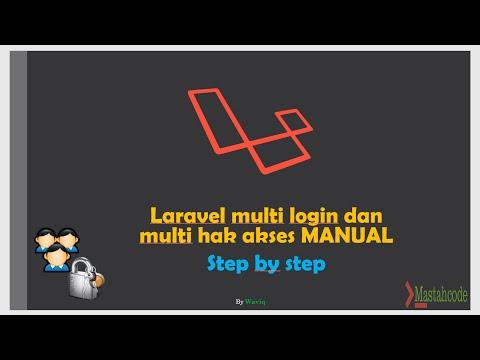 Cara Membuat Hak Akses Laravel