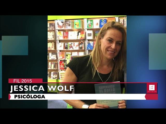 Entrevista con Jessica Wolf   FIL 2015