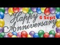Happy Anniversary 6 SEPT| Wedding Anniversary Wishes/Greetings/Quotes/SMS For Couple/Whatsapp Status