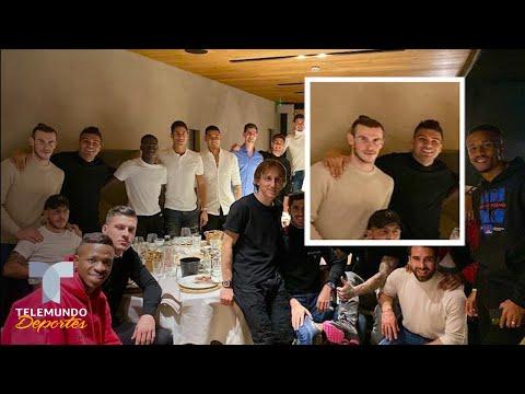 La inesperada sorpresa de Bale en la cena navideña del Real Madrid   Telemundo Deportes