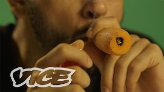 SMOKEABLES: How to Make a Carrot Chillum