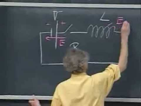Lec 20: Inductance and RL Circuit | 8.02 Electricity and Magnetism, Spring 2002 (Walter Lewin)