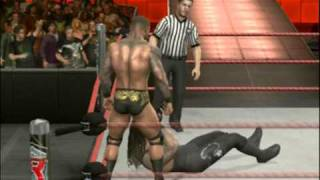 WWE Smackdown vs RAW 2010 - gameplay PS3