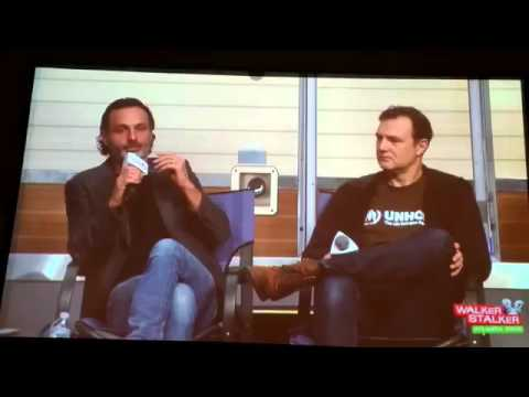 Andrew Lincoln Talks Comics vs TV at Walker Stalker Con Atlanta