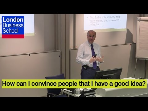 A Day of Executive Education - Costas Markides, How can I convince people that I have a good idea?