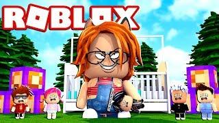 I AM THE BIGest BABY de ROBLOX 😱