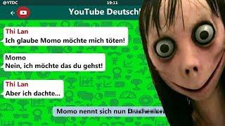 YouTuber reagieren auf die Wahrheit über Momo! 😱😂