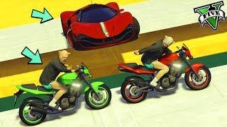 GTA 5 ONLINE 🐷 MOTO VS VISIONE !! 🐷 LTS 🐷N*318🐷 GTA 5 ITA 🐷 DAJE !!!!!!!