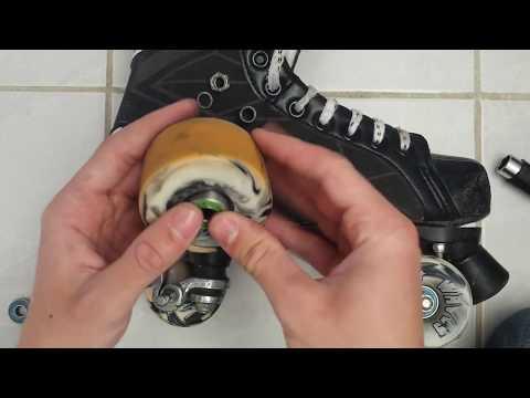 Basic skate maintenance: Cleaning wheels and bearings