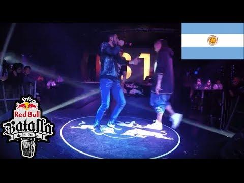 KILLMET vs MC LOKI – Octavos - Córdoba, Argentina 2017  Red Bull Batalla de los Gallos