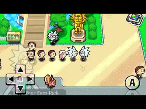Rick and Morty - Pocket Mortys Gameplay
