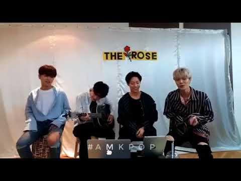 더 로즈 The Rose Play The 4 Chord Game KR.Version (JJ Project, DAY6, Black Pink, Red Velvet)