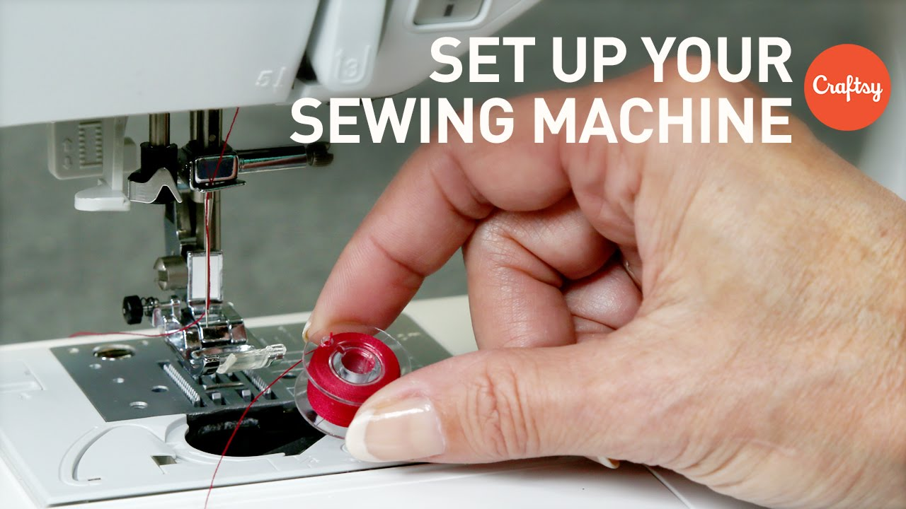 How to Set Up a Sewing Machine for Beginners with Angela