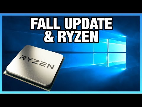 Windows 10 Fall Creators Update - Ryzen CPU-Bound Benchmark
