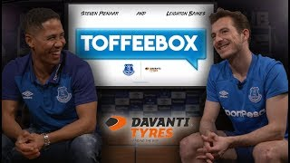 TOFFEEBOX WITH BAINES & PIENAAR!   DUO REUNITE TO WATCH BACK CAREER CLIPS