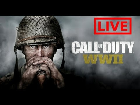 CALL OF DUTY WWII - LIVE   HARDCORE TEAM DEATHMATCH