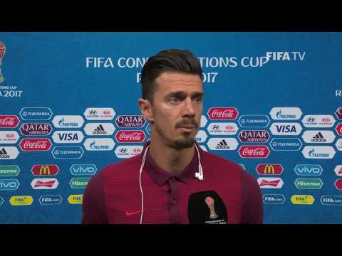 Jose FONTE -  Post-Match Interview - Match 13:  Portugal v Chile - FIFA Confederations Cup 2017