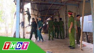 Chiến sĩ giúp dân bị thiệt hại do mưa giông ở huyện Tân Hồng | THDT