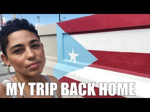 MY TRIP BACK TO PUERTO RICO AFTER 24 YEARS