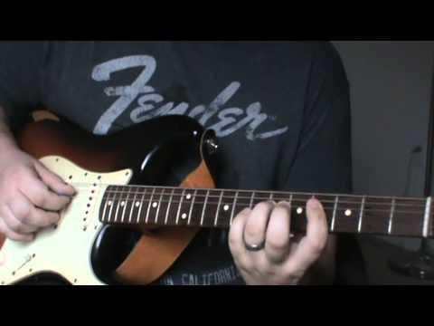 "Eric Johnson's ""SRV"" Complete LESSON (G3 live version)"