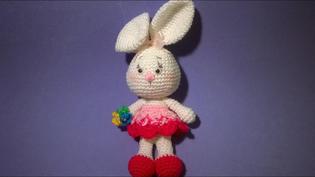 Amigurumi Rabbit Tutorial : Coniglietta subtitulos espanol english amigurumi rabbit bunny