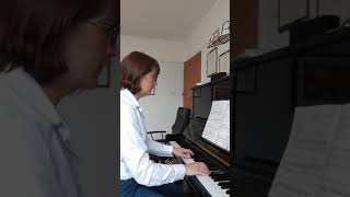 Grade 7 Flute ABRSM, A:1, Allegro CPE Bach, Piano part only.