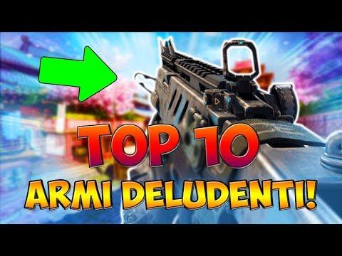 """TOP 10 """"ARMI DELUDENTI"""" NELLA STORIA DI CALL OF DUTY! (COD: Multiplayer - ITA) thumbnail"""