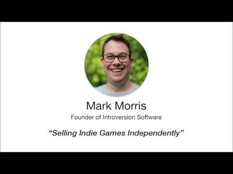 Introversion Software's Mark Morris explains how they sell indie video games online.