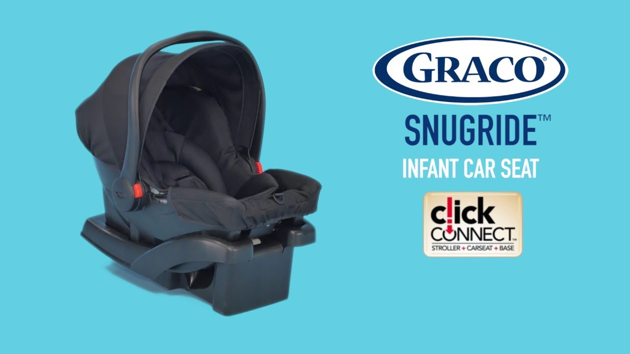 Graco Snugride Infant Carrier With Click Connect Super Snug Less To Lug