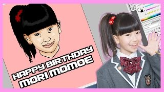 Happy Birthday Mori Momoe / 森 萌々穂 member of Sakura gakuin / さ...