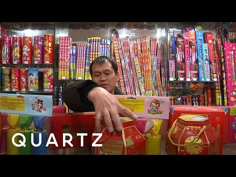 China banned Lunar New Year fireworks in Beijing