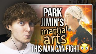 THIS MAN CAN FIGHT! (Park Jimin's Experience in Martial Arts | Reaction/Review)