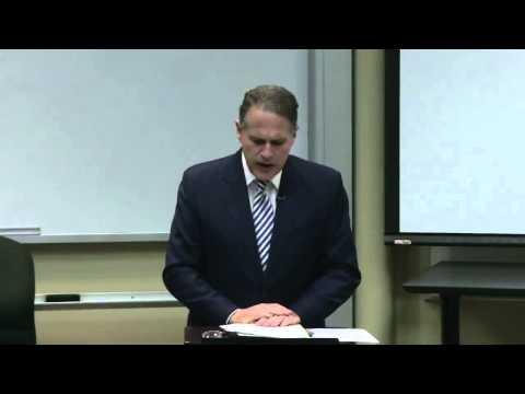 2014 McGill Lecture - Antonio Mora