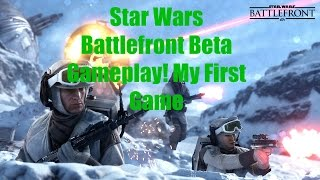 BattleFront Beta Gameplay - My First Game (Featuring Zylax)