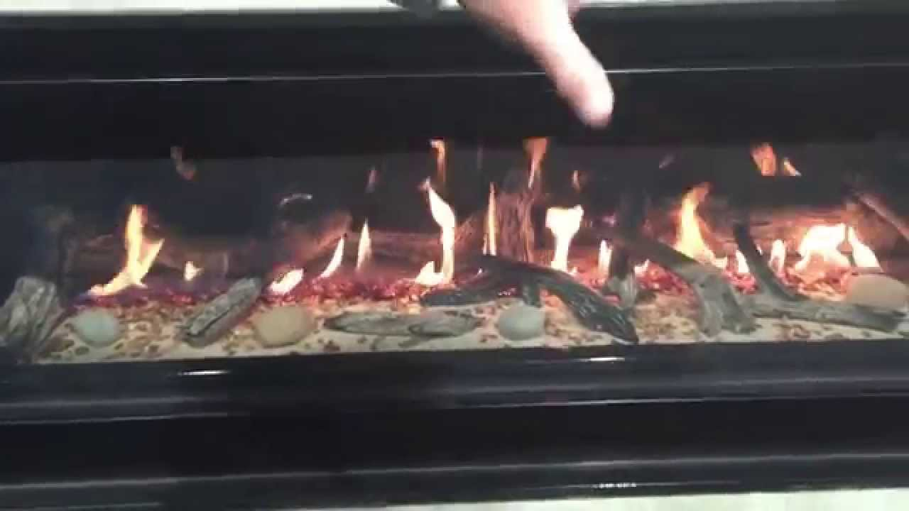 customized fireplaces with glass rock sand and style youtube