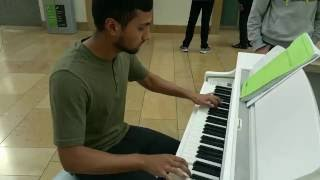 Fairy Tail Main Theme Piano Cover At Bullring Shopping Centre.mp3