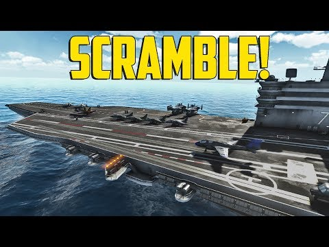 Carrier Deck - SCRAMBLE!