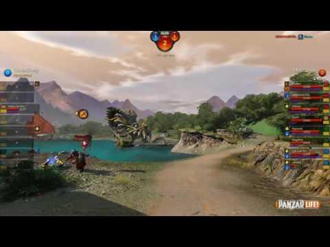 видео: panzar   Серебряная лига   06.11.2016   Али и red_crab