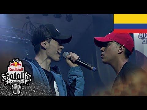 Valles T campeón Final Nacional Colombia 2018  batalla de gallos redbull.