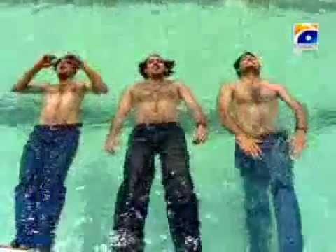 Fawad Khan Syed Jibran Sami Khan Swimming Youtube