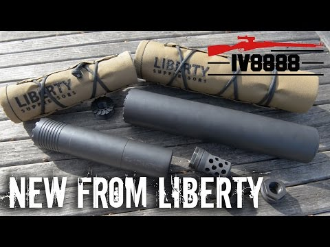 New for 2017: Liberty Suppressors Goliath & Sovereign
