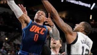 San Antonio Spurs vs Oklahoma City Thunder NBA Full Highlights (11th January 2019)