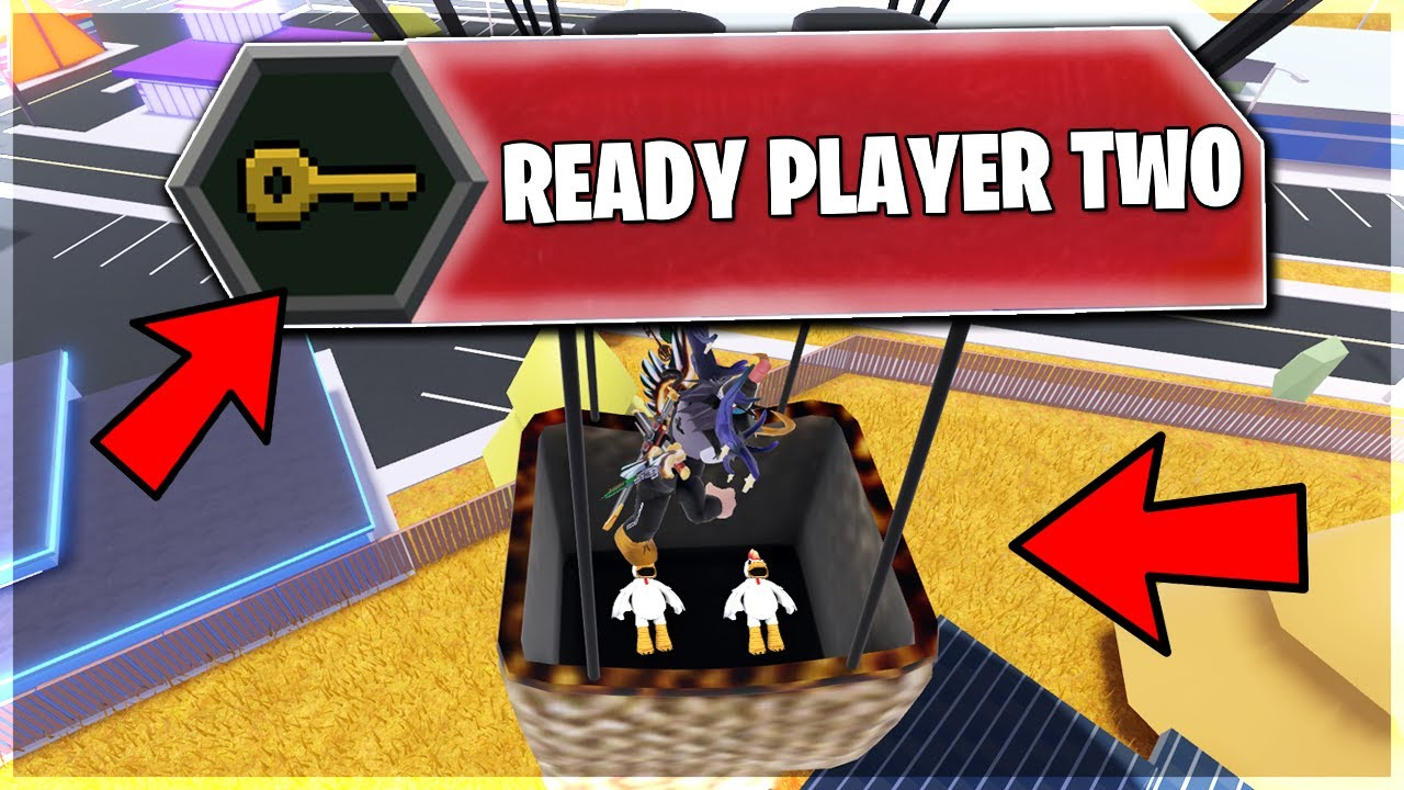 Roblox Jailbreak Ready Player Two Event Update Roblox Event Youtube