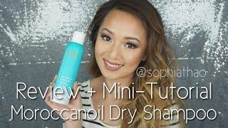 Review: Moroccanoil Dry Shampoo + Mini Tutorial