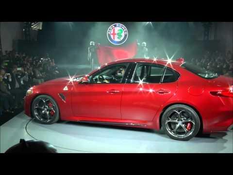 Alfa Romeo Giulia Quadrifoglio North American Reveal | 2015 Los Angeles Auto Show | Alfa Romeo USA