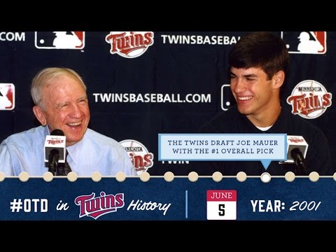 June 5, 2001, Joe Mauer is drafted
