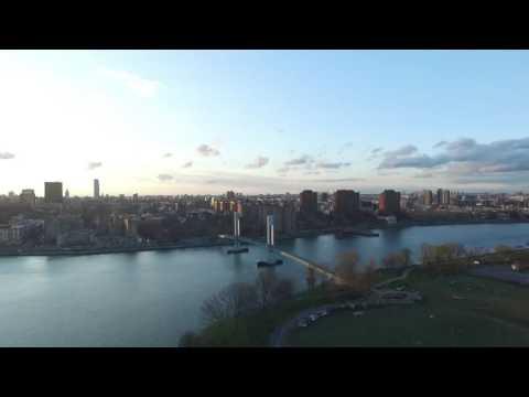 Drone flight Randall's Island