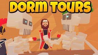 DORM TOURS - Rec Room Gameplay