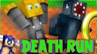 Minecraft - Death Run - New SONIC Map! W/AshDubh